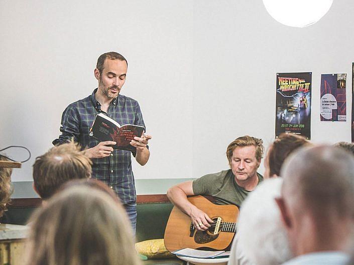 Thomas Giraud & Stéphane Louvain - lecture folk